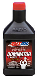 AMSOIL DOMINATOR® Synthetic 2-Stroke Racing Oil